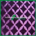 100% Poliéster PV Montón grande tela felpa para tapicería