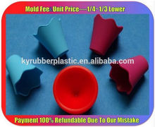 Vulcanized Molded Silicone Part / Food Grade Silicone Component / Heat Resistant Silicone Rubber