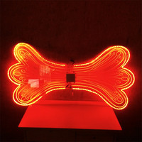 Flashing colors butterfly LED Wings / LED Light dance wings for stage performance
