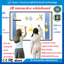 Factory price, office and school infrared smart interactive whiteboard