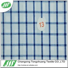 2015 New high quality shirt fabric, Poly/Cotton 60/40 110-115gsm with check CC013