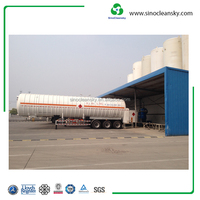 Trailer Cryogenic Tanker Vessel Made in China