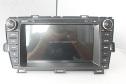 8in Special android 2 din toyota puris car dvd left hand drive with GPS, iPOD, TV, Wifi, 3G, mirror link functions
