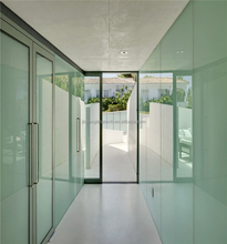 decorative glass/laminated glass/frosted glass partition