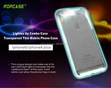 for iphone 6 led flash Light up case