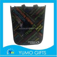 hot sale glossy lamination folding shopping plastic bags