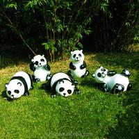 garden landscaping decor park ornaments resin Panda statue