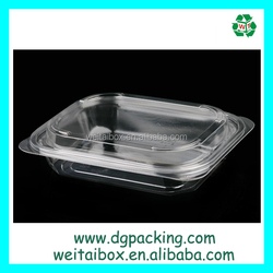 Disposable food grade PET PP food&take out food&salad container