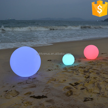 60cm led glow light beach ball color changing outdoor led lantern