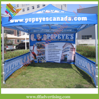 Heavy duty windproof and waterproof gazebo canopy
