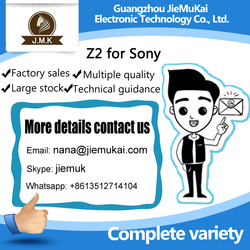 China supplier hot sale for sony xperia z2 lcd screen