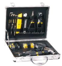 Factory own supply OEM aluminum case tool kit mechanic tool combination
