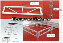 aluminium stage internation standard size 8ft* 8ft stage special for the mobile events and moving events