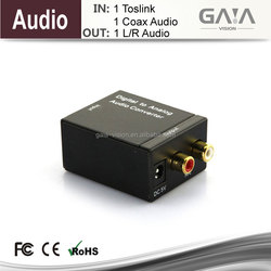 New and Hot!! Digital Coaxial or Optical Toslink SPDIF LR Digital to Analog Audio Konverter