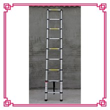 11 steps Telescopic Ladder , rubber feet for ladders, Loft stairs made in china