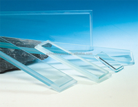 building construction glass panel, glass curtain wall, building glass roof