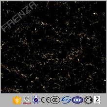 Granite Design Full Body Polished Tile Black Color Interior Wall And Floor Tile