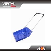 USA market FFU plastic push snow shovel