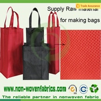 Fashion style PP spunbonded non woven fabric for shopping bags