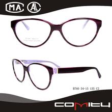 Fashional acetato de gafas ópticas para niños armazones de lentes