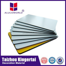 Hot sale Alucoworld Professional china manufacturer latest design exterior wall cladding 4mm 5mm mirror wall cladding