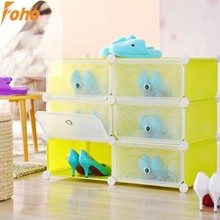 Multiple DIY folding shoe corner storage with many colors available(FH-AL0158-6)