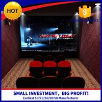 Develop 3d movies per month 5d cinema equipment
