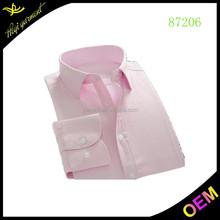 Pink fancy design men batik shirts unique dress shirts