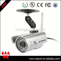 Outdoor p2p waterproof cctv camera outdoor wireless ip camera sd card for iphone ipad android app