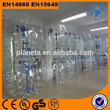 Human Sized Outdoor Play Clear Giant Inflatable Body Bumper Ball For Adult