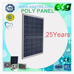 High Efficency 100w polycrystalline silicon solar panel solar module