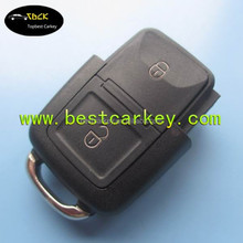 Topbest remote control unit with vw key 2 button 433MHZ 1JO 959 753 AG