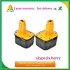 replacement 12v cordless drill battery for dewalt de9074