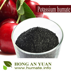 Quick Release Type Humic Acid Origin Potassium Humate For Plant Growth