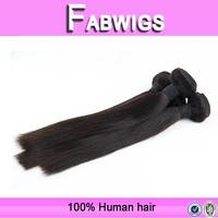 Hot new products for 2015 Silky straight natural color 8A quality wholesale cheap brazilian hair weaving bundles