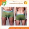 green flexible nylon polyester underwear