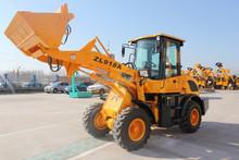 snow blade wheel loader ZL918/ZL18F mini loader with snow remover/pallet fork loader ZL18/1.8Ton loading machinery/shovel loader