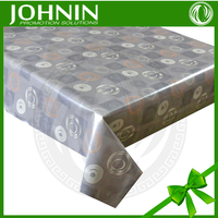 2015 professional design party printed custom PVC table cloth