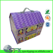 China manufacturer strong wholesale cardboard box house designs