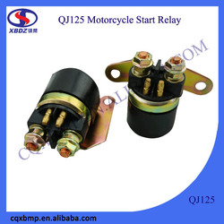 Qiangjiang Motorcycle Accessoires Electric Motor Start Relay For Suzuki