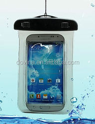 2015 Hot travel Underwater Waterproof Bag touch screen mobile Phone Pouch Dry Case Cover For Samsung Galaxy Note 4 3 2 Note edge
