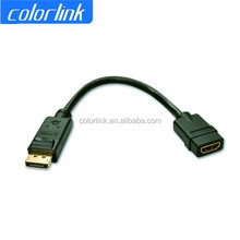 hot products to sell online display port female to hdmi male adapter for HDTV PC HG