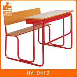 School combo chair with desk