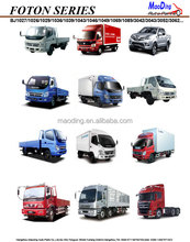 FOTON CAR PICKUP TRUCK SPARE PARTS