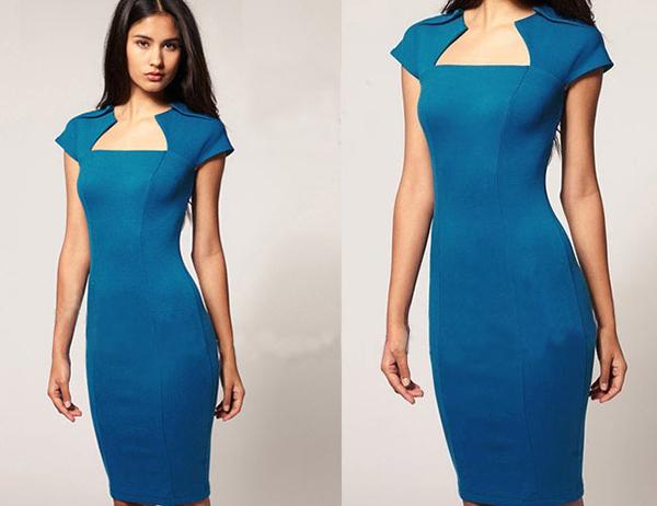 Tipos de vestidos para mujeres delgadas