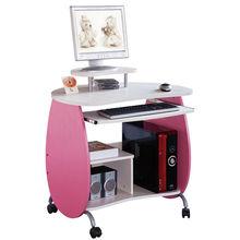 Pink red children room mobile study computer desks