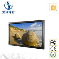 55 inch touch advertising machine LCD computer all in one with TV,PC+LCD+TV