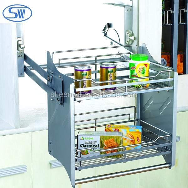 Wdj160 guangzhou keukenkast rvs plaat rack met afdruiprek for Keukenkast ontwerpen