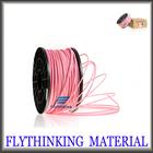 pink 3mm pla filamento para impressora 3d