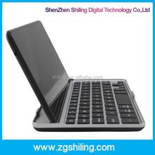 Black Aluminum Mini Wireless Black Google Nexus Bluetooth Keyboard For Tablet PC